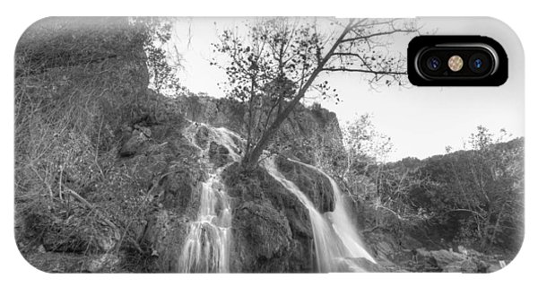 Tree At Turner Falls IPhone Case