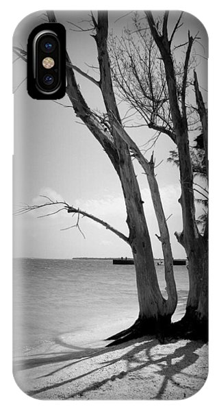 Tree By The Sea IPhone Case