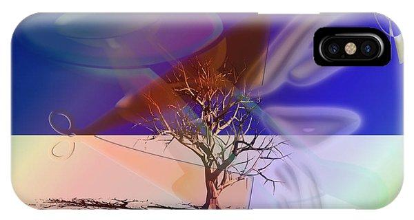 Tree Cut IPhone Case