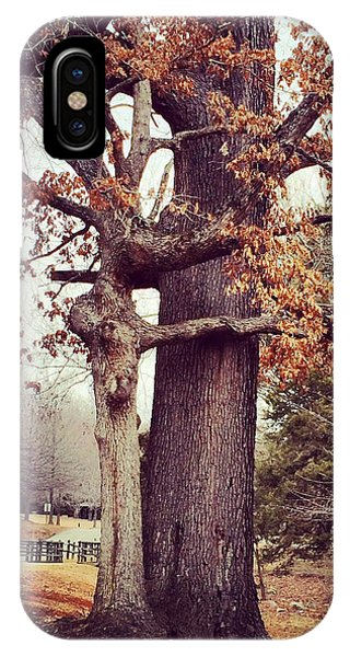 Tree Hugging IPhone Case