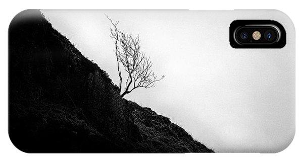 Beautiful Scotland iPhone Case - Tree In Mist by John Farnan