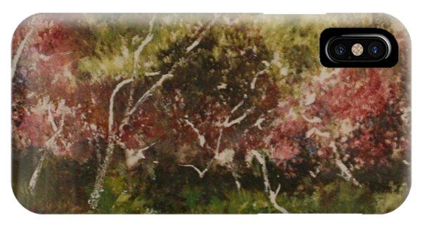 Tree Light IPhone Case