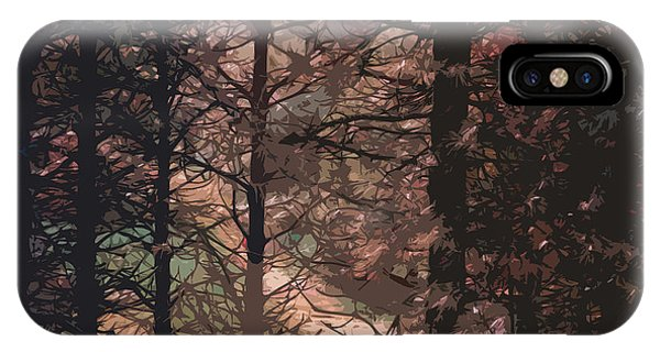 Tree Lights IPhone Case
