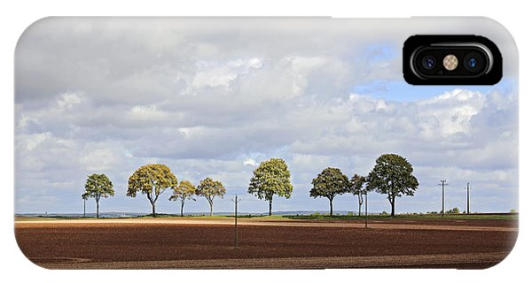 Tree Line France IPhone Case