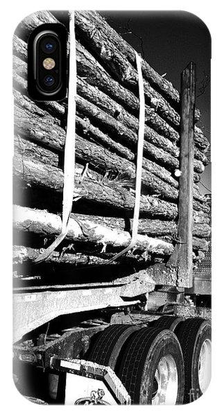 Tree Logger IPhone Case
