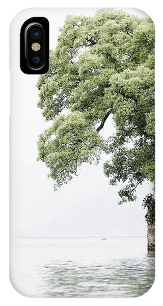 Tree Next To A Lake IPhone Case