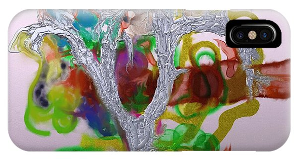 Tree Of Forbidden Fruit  IPhone Case