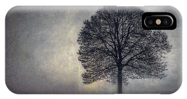 Fog Mist iPhone Case - Tree Of Life by Scott Norris