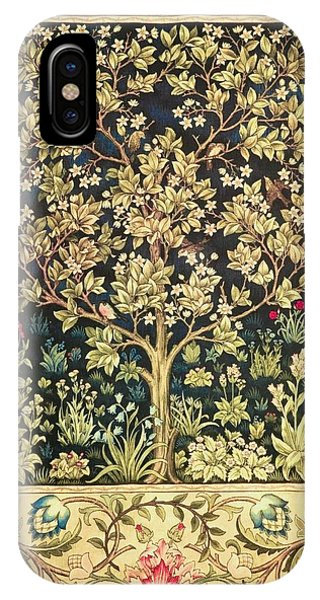 Art And Craft iPhone Case - Tree Of Life by William Morris