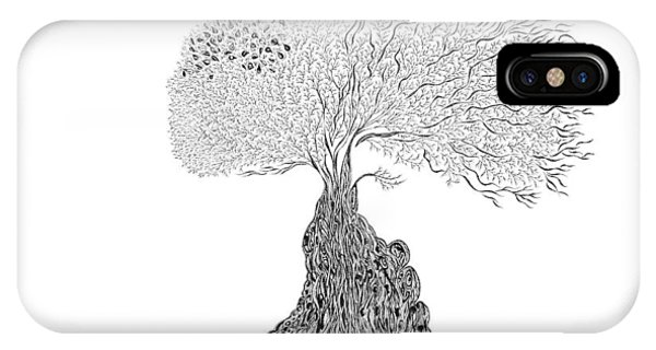 Tree Of Uncertainty IPhone Case