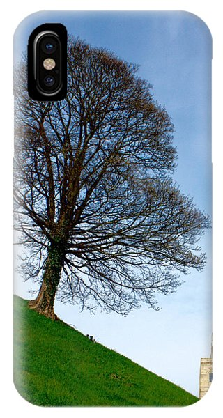 IPhone Case featuring the photograph Tree On A Hill by Jeremy Hayden