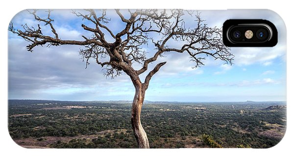 Tree On Enchanted Rock IPhone Case