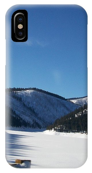 Tree Shadows IPhone Case