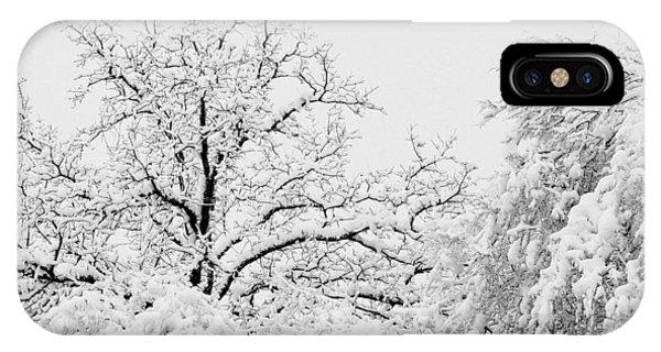 Tree Snow IPhone Case
