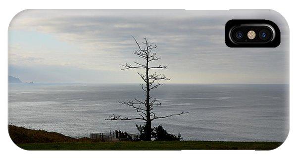Tree Statue IPhone Case