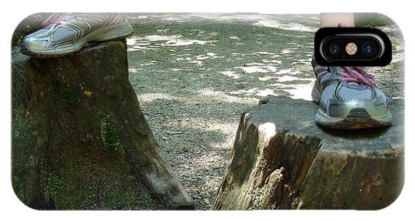 Tree Stump Stilts IPhone Case