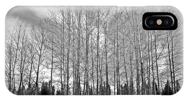 Tree Sweep IPhone Case
