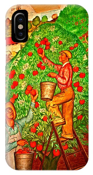 Tree Top Harvest IPhone Case