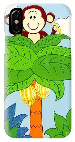 Tree Top Monkey IPhone Case