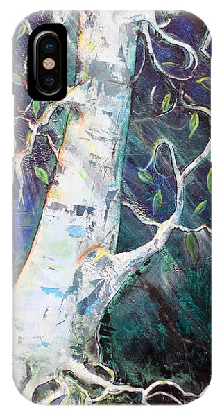 Tree Phone Case by Valerie Wolf