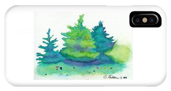 Trees 2 IPhone Case