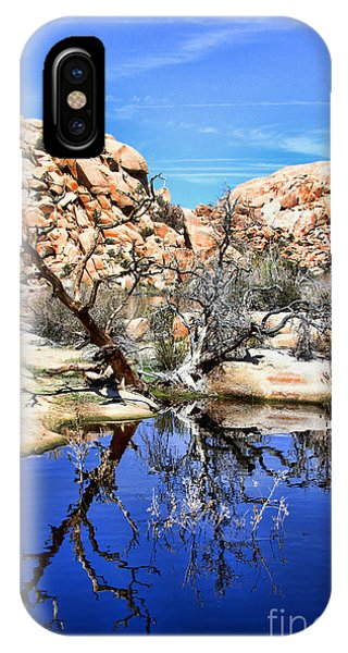 Trees In The Barker Dam IPhone Case