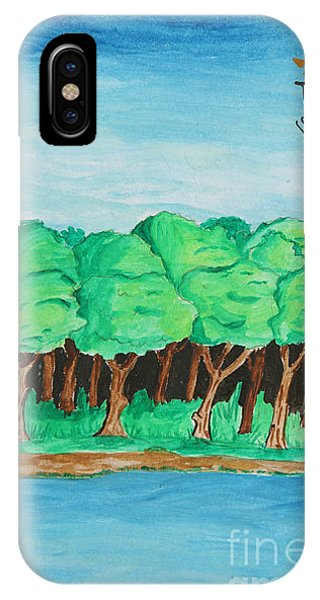 Trees She IPhone Case