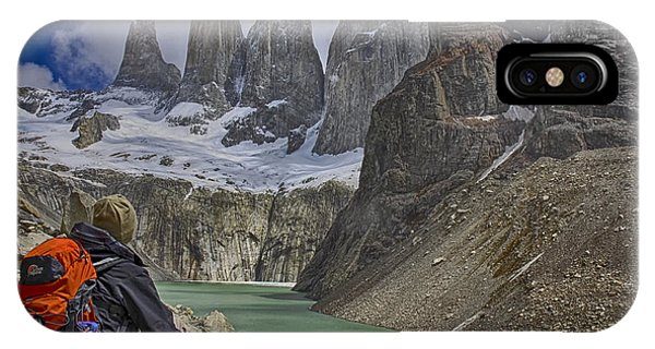 Trek To Torres Del Paine IPhone Case