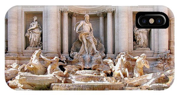 3 Coins Trevi. Rome IPhone Case