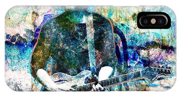Mike iPhone Case - Trey Anastasio - Phish Original Painting Print by Ryan Rock Artist