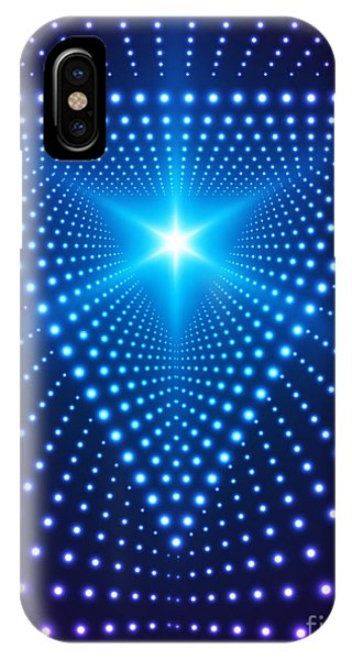 Digital Effect iPhone Case - Triangle Border With Light Effects by Skillup