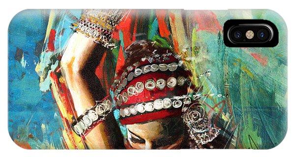 Tribal Dancer 1 IPhone Case