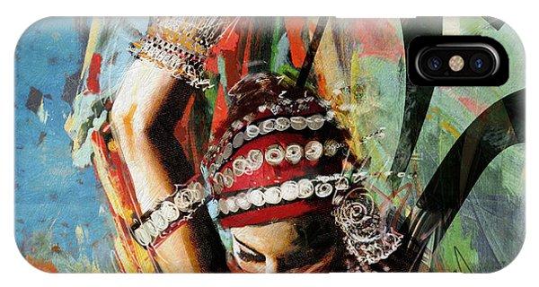 Tribal Dancer 4 IPhone Case