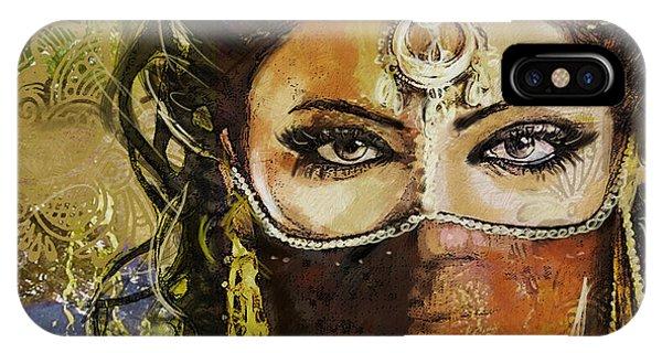 Tribal Dancer 6 IPhone Case
