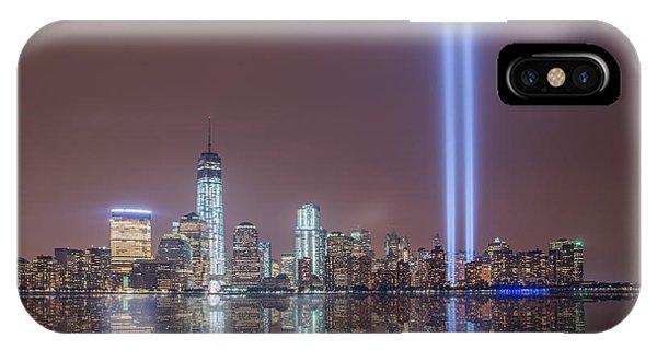 Tribute In Light IPhone Case