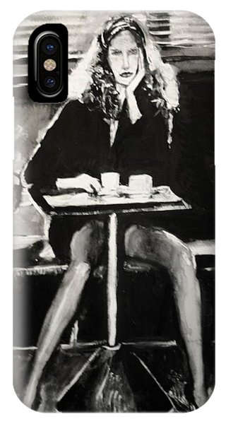 Tribute To Helmut Newton IPhone Case
