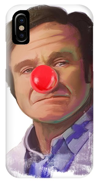 Tribute To Robin Williams IPhone Case
