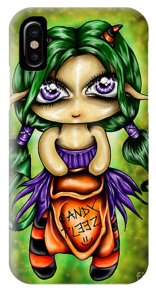 Trick Or Treat Phone Case by Coriander  Shea