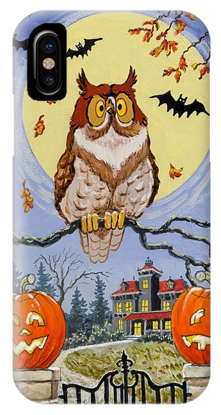 Trick Or Treat Street IPhone Case