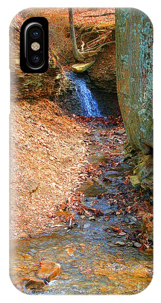 Trickling Waterfall By Shellhammer IPhone Case