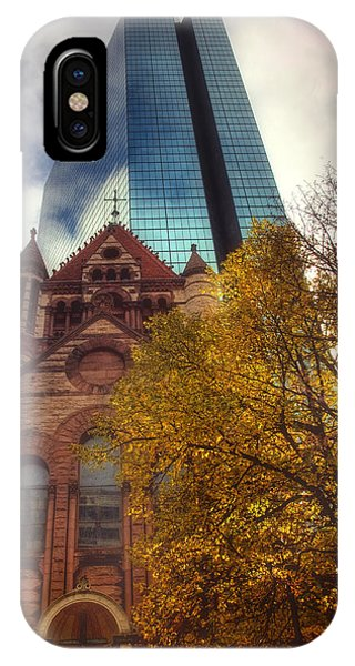 Trinity And The Hancock IPhone Case