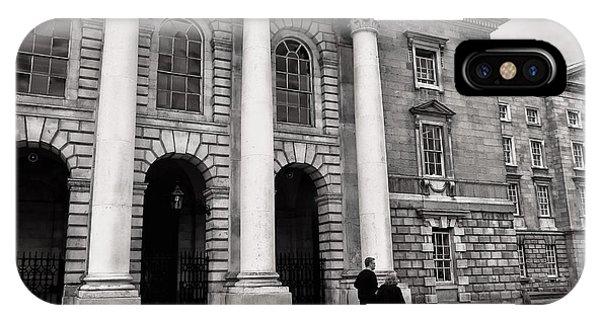 Trinity College Examination Hall IPhone Case