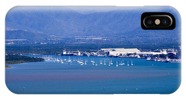 IPhone Case featuring the photograph Trinity Inlet From The Air by Debbie Cundy