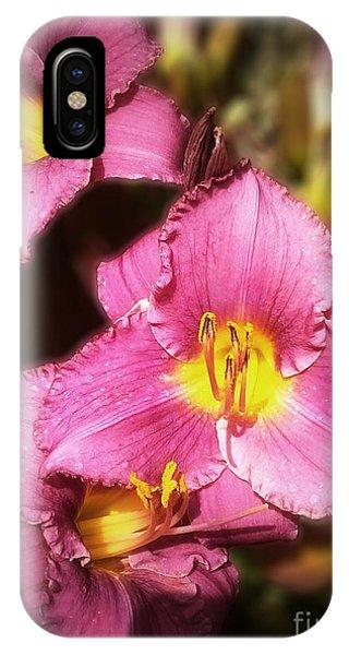 Triple Lilies IPhone Case