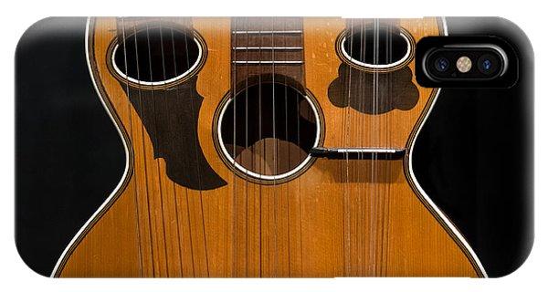 Triple-neck Instrument IPhone Case