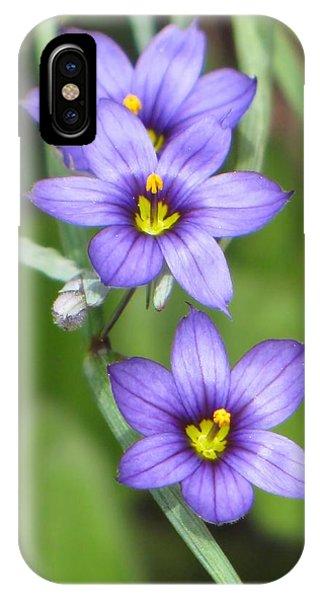 Triple Purple IPhone Case