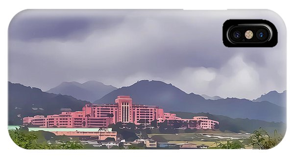 Tripler Army Medical Center IPhone Case