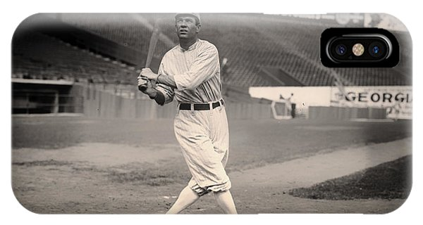 Baseball Hall Of Fame iPhone Case - Tris Speaker by Mountain Dreams