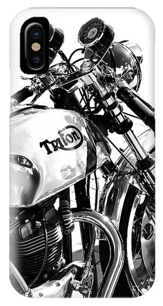 Triton Motorcycle IPhone Case