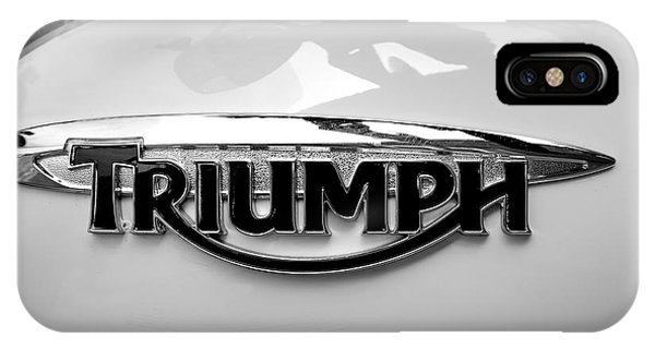 Triumph Fuel Tank IPhone Case
